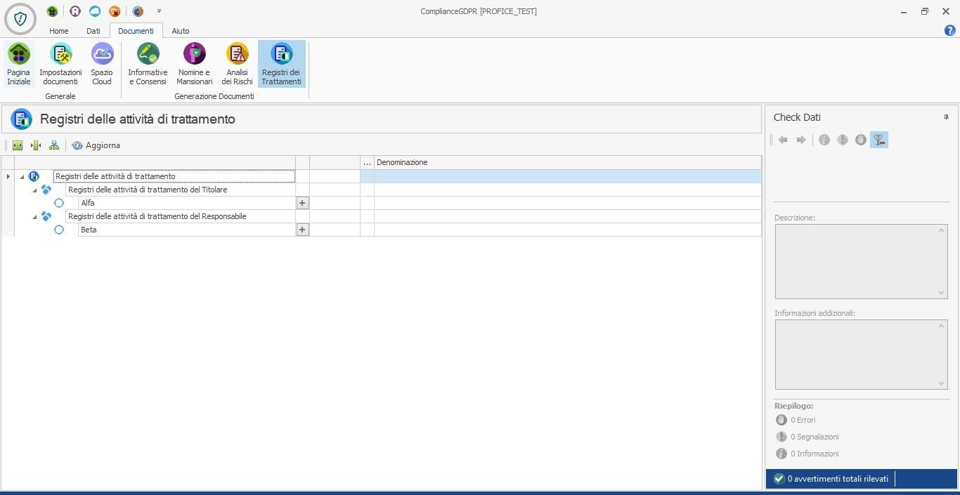 registro trattamento gdpr 2 Compliance GDPR